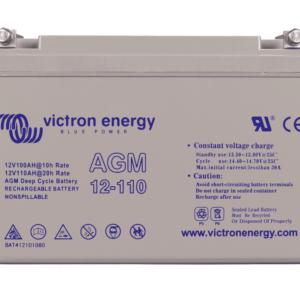 Victron AGM Deep Cycle Batterie 12V 110Ah