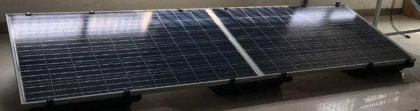 PrimeSolar Flachdachmontagesystem 18 Grad für gerahmte Solarmodule
