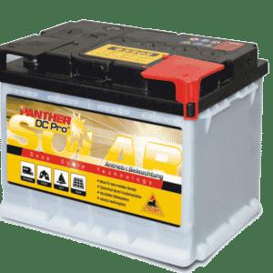 Panther Solar Batterie 12V 60Ah (20h) DIN 95502