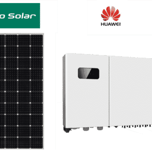 30,2 kWp - PhonoSolar Module 325 Wp + WR Huawei - 4 MPPT Tracker