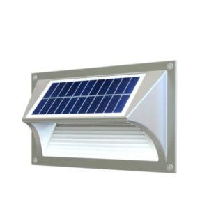 LED Lampe Solar Step Wall Light für Stufen-, Wand- und Wegbeleuchtung