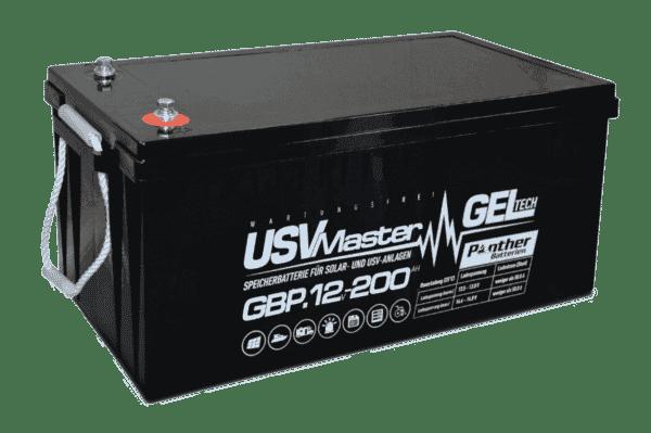 Panther USVMaster GEL Batterie 12V 200Ah (20h)