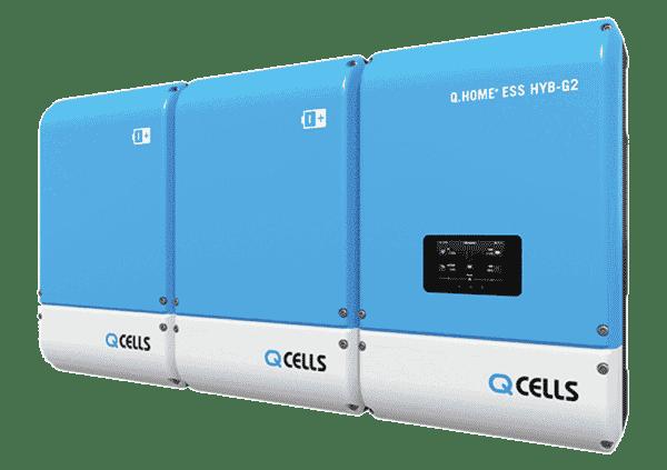 QCELLS Q.HOME+ ESS HYB-G2 incl. 8 kWh Akku