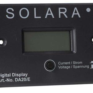 FOX LCD Fernanzeige DA20/E Universell Spannung, Lade- / Entladestrom