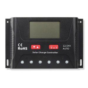 PWM Batterie Laderegler 12V/24V 40A, 600/1200W, Bluetooth und App