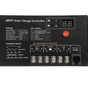 MPPT Batterie Regler 12V/24V 10A, Input 130/260W