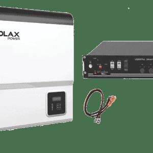 Solax SK-SU3000-G1 inkl. 2,4 kWh PylonTech Batterie 48V LiFePO4 - US2000B PLUS