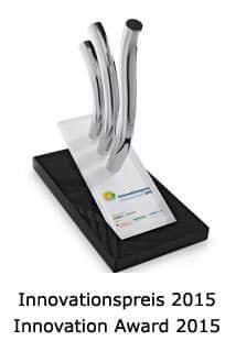 Ausgezeichnet mit dem Innovationspreis 2015