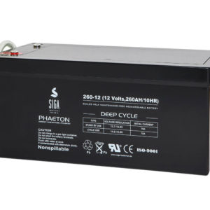 SIGA PHAETON AGM Deep Cycle Batterie S260-12 12V 260Ah