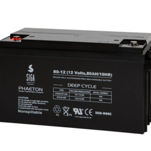 SIGA PHAETON AGM Deep Cycle Batterie S80-12 12V 80Ah