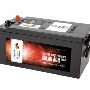 SIGA SOLAR AGM Batterie SF150 12V 150Ah