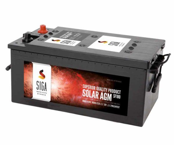 SIGA SOLAR AGM Batterie SF180 12V 180Ah