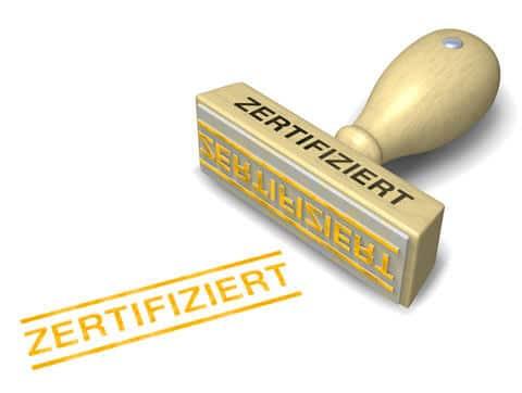 IEC Zertifizierung